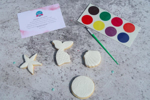 paint your own cookie items