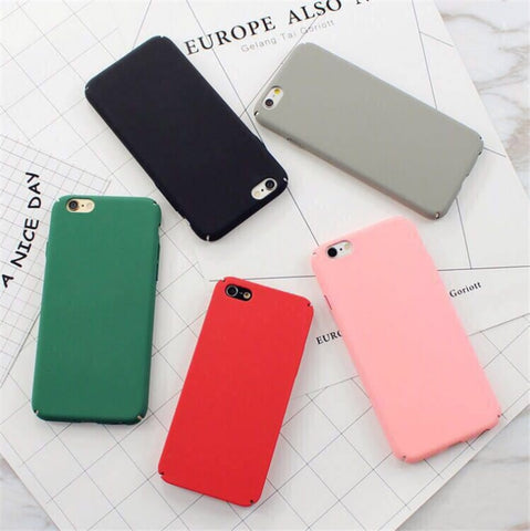 Matte Color Case for iPhone