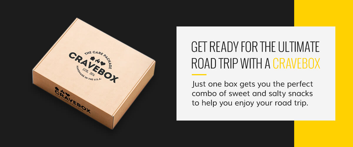 Get Ready for the Ultimate Road Trip With a CraveBox