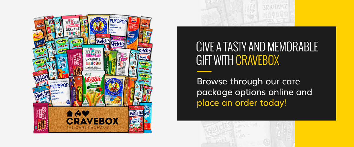 Give a Tasty and Memorable Gift With CraveBox