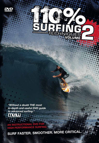 110% Surfing Techniques Volume 2 - DVD