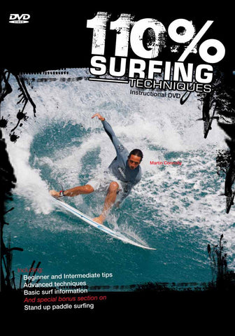 110% Surfing Techniques Volume 1 - DVD
