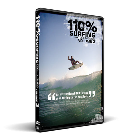 110% Surfing Techniques Volume 3 - DVD