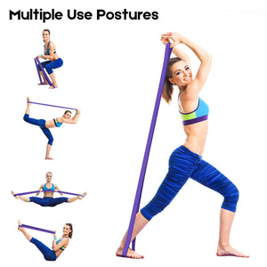 208Cm Fitness Pull up Assist Bands Rubber Bands Heavy Duty Resistance Band Yoga Elastic Bands Loop Expander for Workout Sports