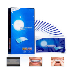 Load image into Gallery viewer, 28Pcs/14Pairs Advanced Teeth Whitening Strips Stain Removal for Oral Hygiene Clean Double Elastic Dental Bleaching Strip