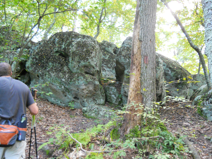 Standing Stone Trail: Hiking Through the Rocks in Rocky Ridge N.A.