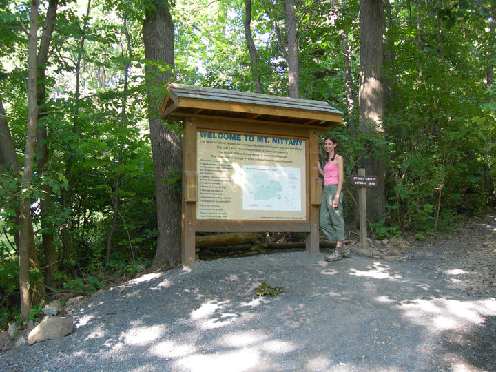 Mount Nittany: Hiking the White Blazed Trail