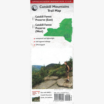 Catskill Mountains Trail Map