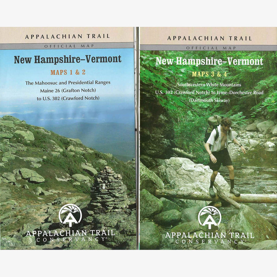 Appalachian Trail Hiking Maps: NH / VT