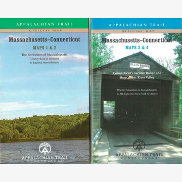 Appalachian Trail Hiking Maps: MA / CT