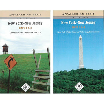 Appalachian Trail Hiking Maps: NY / NJ