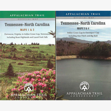Appalachian Trail Hiking Maps: TN / NC