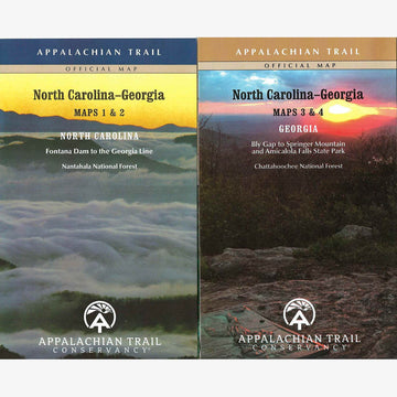 Appalachian Trail Hiking Maps: NC / GA