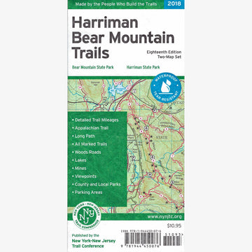 Harriman-Bear Mountain Trails Map Set