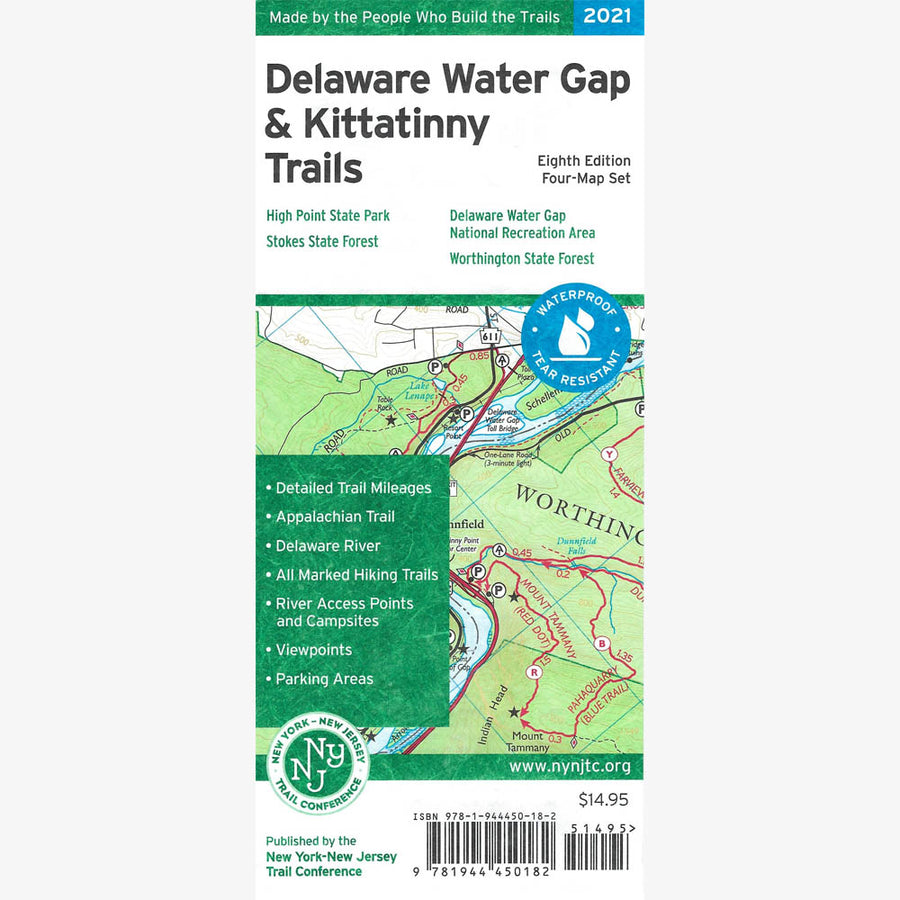 Delaware Water Gap & Kittatinny Trails Map Set