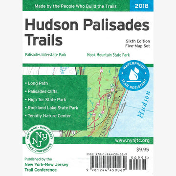 Hudson Palisades Trails Map