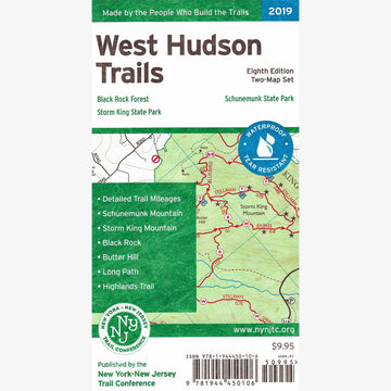 West Hudson Trails Map Set