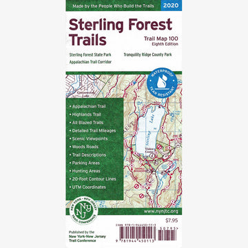 Sterling Forest Trails Map Set