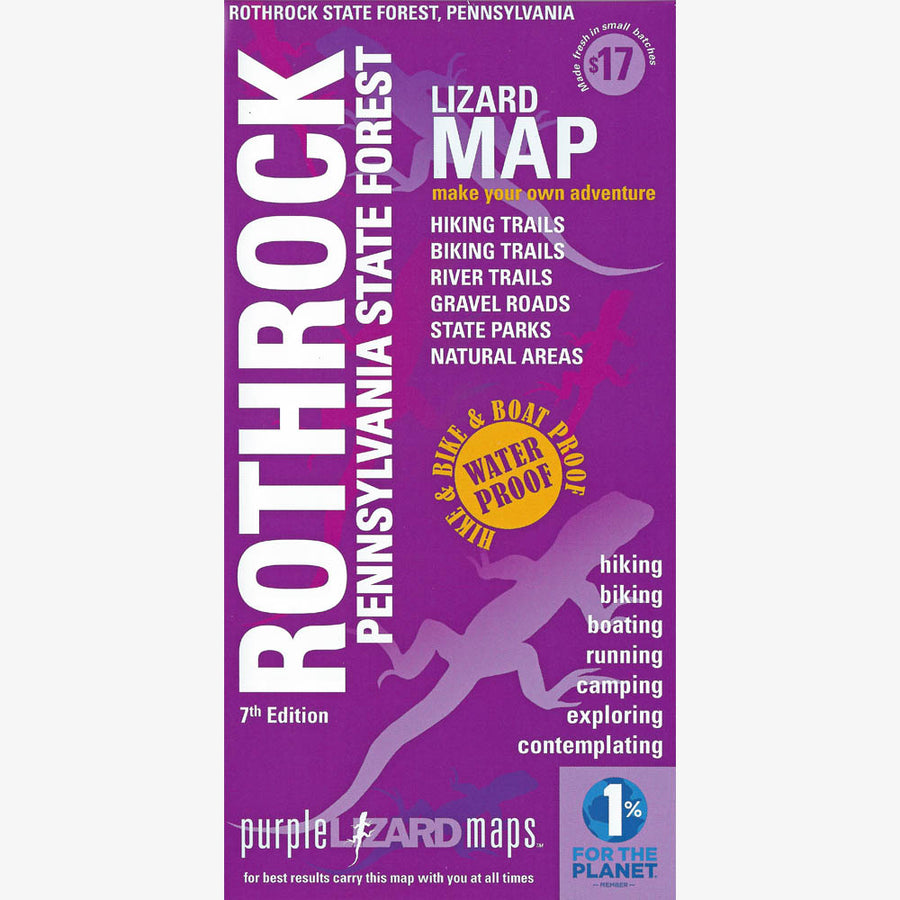 Rothrock State Forest Trail Map