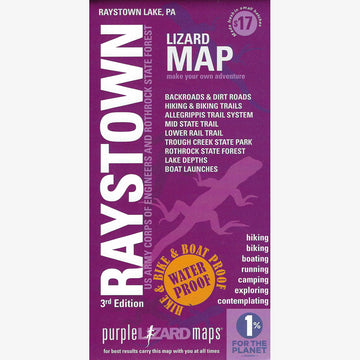 Raystown Lake Area Trail Map