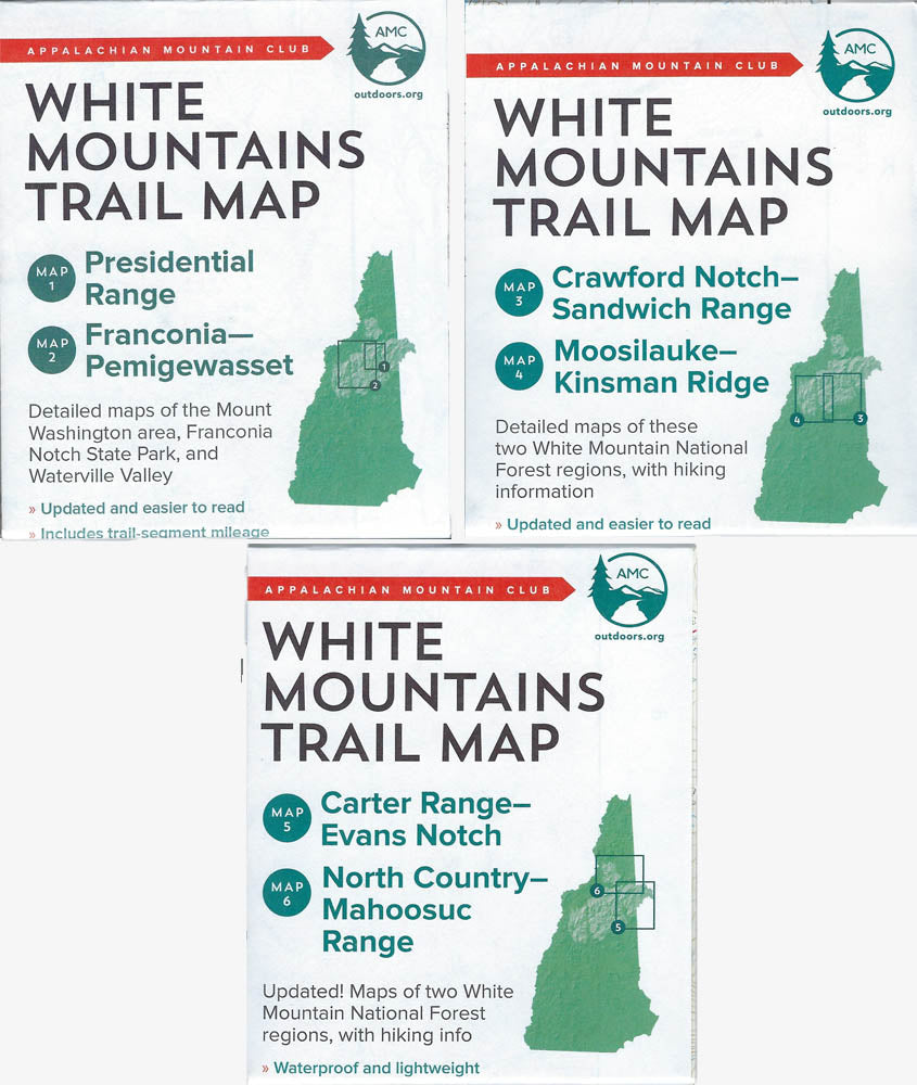 White Mountain Guide and Maps