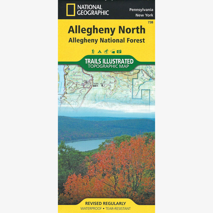 Allegheny National Forest: North Map