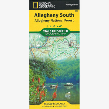 Allegheny National Forest: South Map