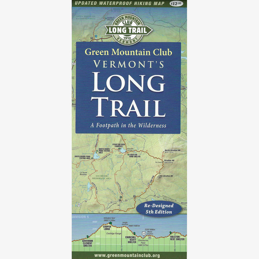 Vermont's Long Trail Map