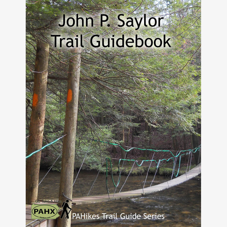 John P. Saylor Trail Guidebook and Map