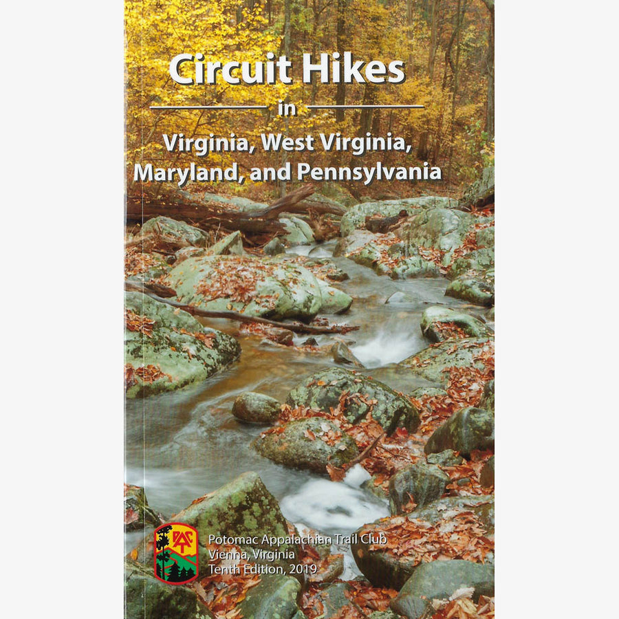 Circuit Hikes in VA, WV, MD and PA