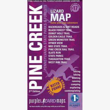 Pine Creek Area Trail Map