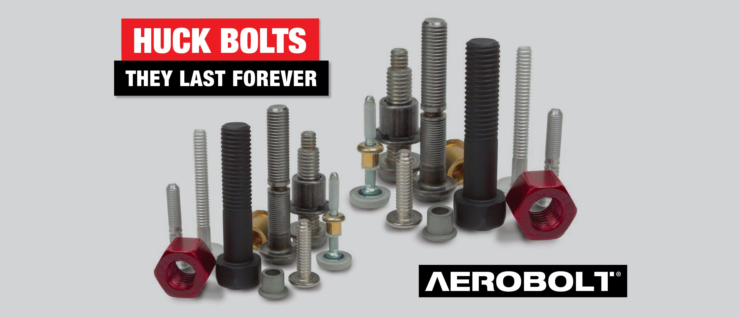 Huck Bolts, they last forever