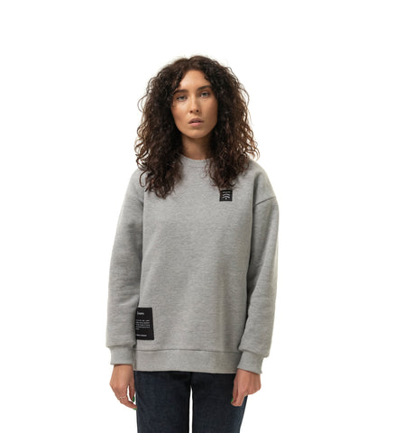 Women's oversized sweatshirt