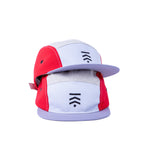 Color block 5 panel cap