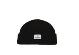 Short black hat