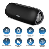 (REFURBISHED) - WeCool XTREME Bluetooth Speaker with Rich Bass Surround Sound 8 Hours Playtime with Mic, Micro SD and AUX Support Powerful Mini Speaker for Smartphone