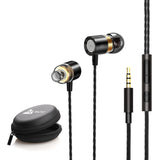 WeCool Premium Wired Earphones with Thumping Bass and Surround Sound