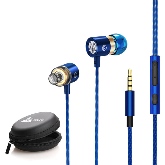 WeCool W004 HiFi Premium Wired Earphones with Thumping Bass and Surround Sound