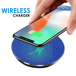 WeCool Wireless Charging cables Pad for iPhone, Samsung and All Qi Enabled, Compatible Smart Phones