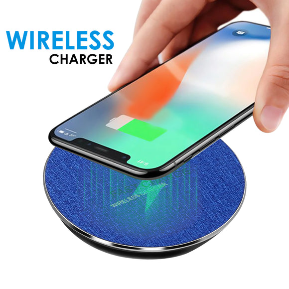WeCool Wireless Charging cables Pad for iPhone, Samsung and All Qi Enabled, Compatible Smart Phone mobile accessories