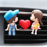 Lovely Couple Car Air Vent Freshener