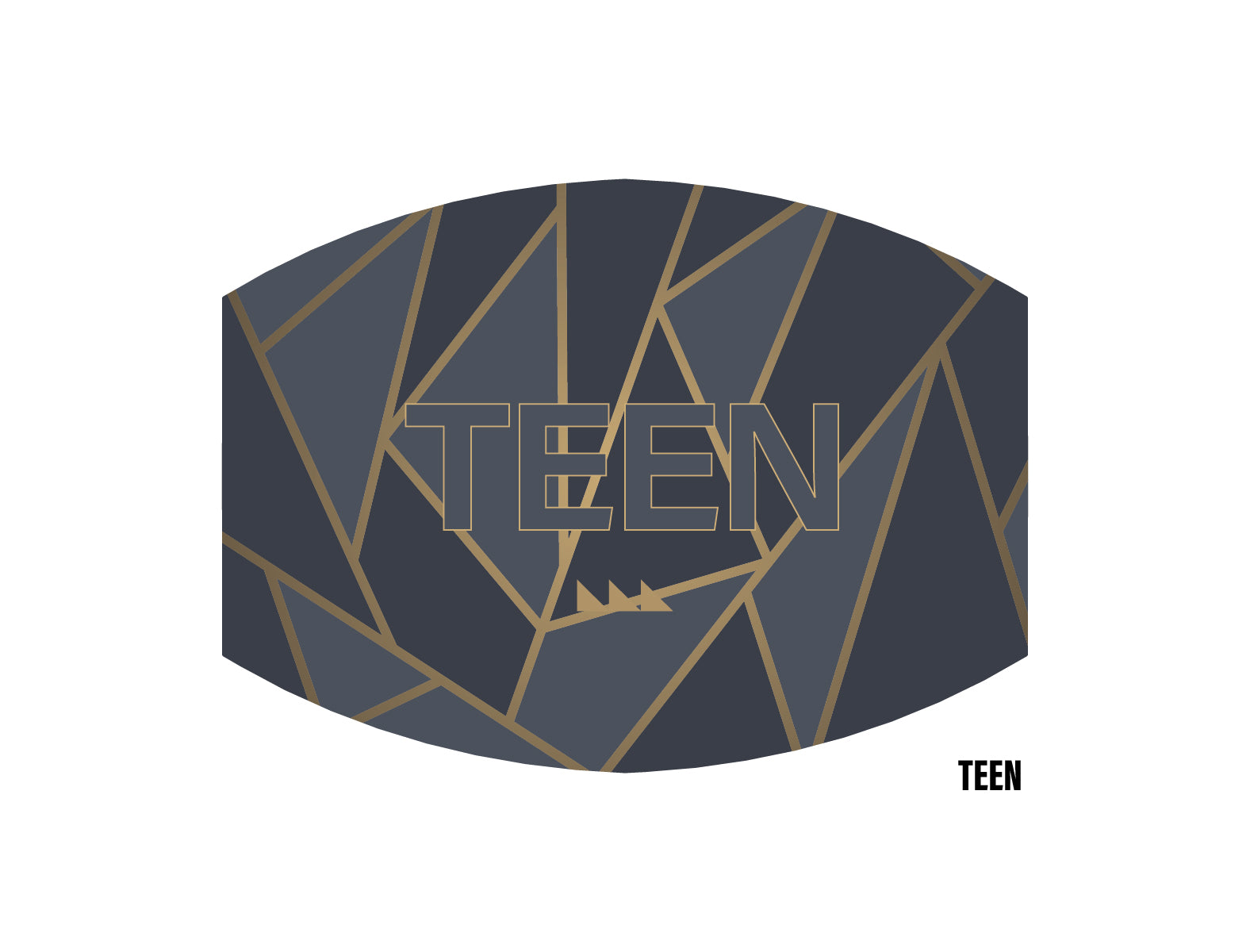 Triangular Face Mask (Teen)