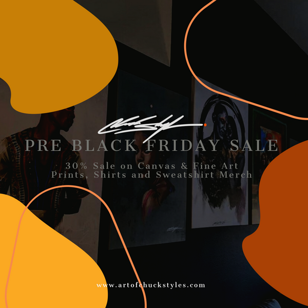 Black Art for Black Friday Sale.