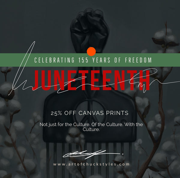 WE CELEBRATE JUNETEENTH