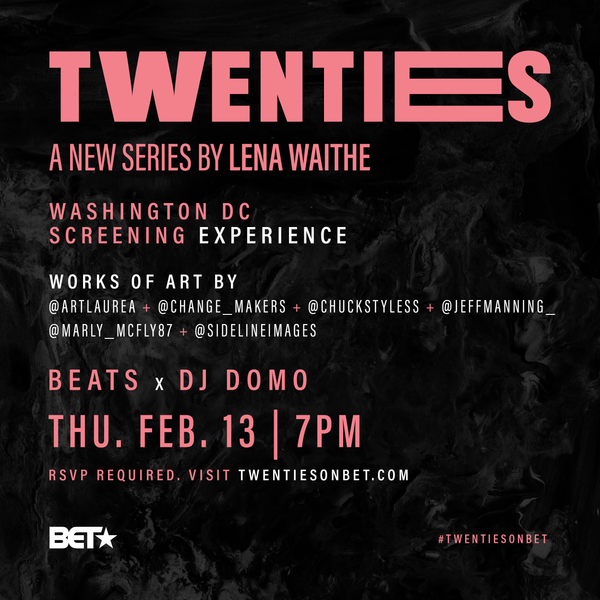 BET The Twenties Premiere Art Showcase w/ Lena Waithe