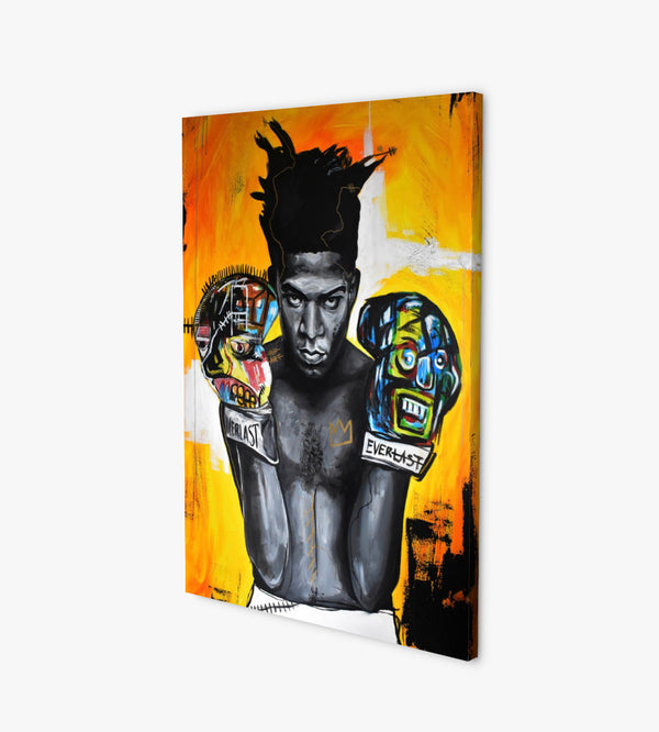 Basquiat Radiant Hands