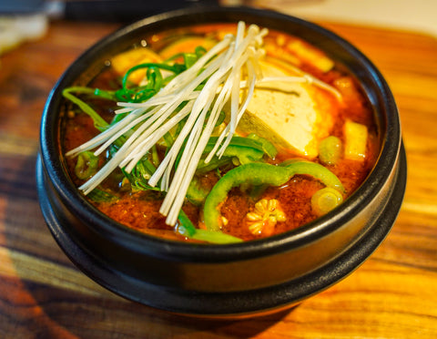 camp recipes korean soybean stew