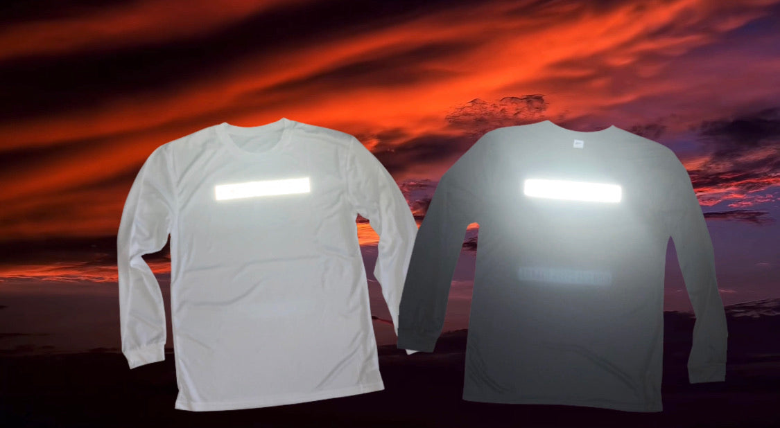 "**NEW**  ""A Runners Life"" Night Vision - Unisex Performance T-Shirt"