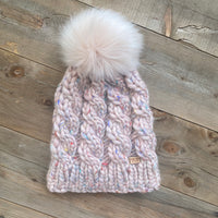 SUPER CHUNKY Cable Twist Beanie