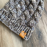 Chunky Cable Twist Beanie
